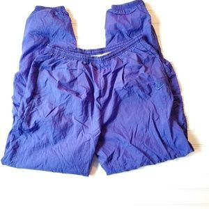 Vintage Nike Lined Windbreaker Pants Large